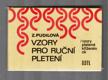 Vzory pro ruční pletení - Vzory pletené křížením ok