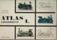 Atlas lokomotiv sv. 1 - 2 BEZ OBÁLEK!