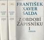 Z období Zápisníku sv. 1 - 2 Studie, medailóny a glosy z literatury české