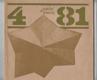 Umění a řemesla - čtvrtletník pro otázky lidové umělecké výroby a uměleckého řemesla. 4/81