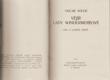 Vějíř lady Windermereové - hra o dobré ženě