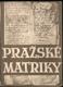 Pražské matriky farní 1584 - 1870