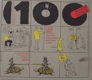 100 přísloví nikoho neumoří - 100 ilustrovaných přísloví v češtině, ruštině, němčině, angličtině, francouzštině, španělštině a latině