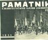 Památník II. manifestačního sjezdu legionářského v Praze ve dnech 29.června až 2.července 1928