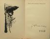 Tvář - poesie 1930-31 PODPIS HALAS