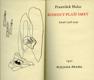 Kohout plaší smrt - básně 1928-1929 VĚNOVÁNÍ HALAS