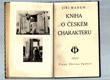 Kniha o českém charakteru