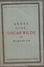 Oscar Wilde - In memoriam