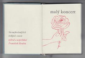 Malý koncert - sto nejkrásnějších českých sonetů