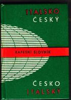 Italsko-český a česko-italský kapesní slovník. Dizionario tascabile italiano-ceco e ceco ...