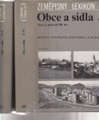 Zeměpisný lexikon ČR, Obce a sídla - stav k polovině 80. let. 2 Díly