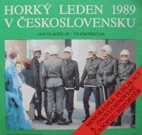 Horký leden 1989 v Československu - mimořádná publikace k znovuobnovení časopisu Reportér