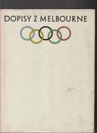 Dopisy z Melbourne bez obálky!