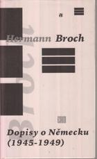 Dopisy o Německu - (1945-1949)