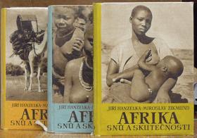 3SVAZKY Afrika snů a skutečnosti I - II  BEZ OBALU!!