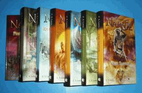 Letopisy Narnie sv. 1 - 7 KOMPLET! (Lev, čarodějnice a skříň + Princ Kaspian + Plavba ...