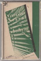 Sbohem a šáteček - Básně z cesty - 1933