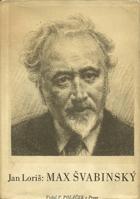 Max Švabinský - náčrt k monografii