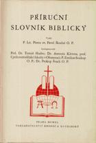Příruční slovník biblický
