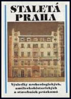 Staletá Praha - sborník Pražského střediska státní památkové péče a ochrany přírody. ...
