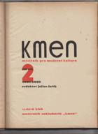 KMEN 2. ročník (časopis pro moderní literaturu) KOMPLET 10 ČÍSEL!