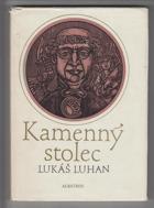 Kamenný stolec - mozaika o Kosmovi a jeho kronice