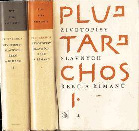 Životopisy slavných Řeků a Římanů sv. 1 - 2