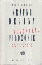 Krátke dejiny novovekej filozofie - od Descarta po Wittgensteina SLOVENSKY