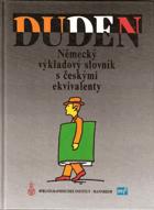 Duden - německý výkladový slovník s českými ekvivalenty