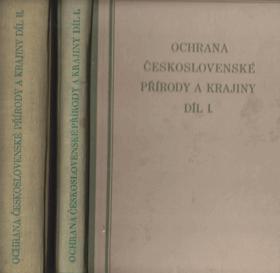 Ochrana československé přírody a krajiny I-II.