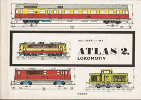 Atlas lokomotiv II. Elektrická a motorová trakce...BEZ OBALU (foto ilustr.)
