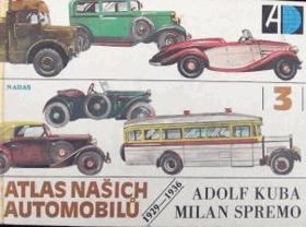 Atlas našich automobilů III 1929 - 1936