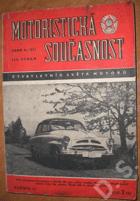 Motoristická současnost II. roč., číslo 2 - čtvrtletník Světa motorů