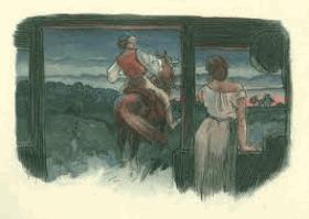 Toman a lesní panna