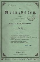 Die Grenzboten - Zeitschrift für Politik und Literatur No. 13