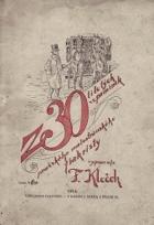 Z třicetiletých vzpomínek pražského malostranského fiakristy