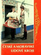 České a moravské lidové kroje - soubor 12-ti pohlednic