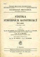 Statika stavebních konstrukcí - s 529 obrazci v textu