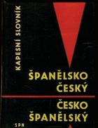 Španělsko-český, česko-španělský kapesní slovník