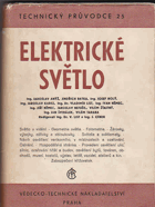 Elektrotechnika. 6, Elektrické světlo