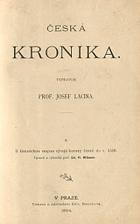 Česká kronika díl I.