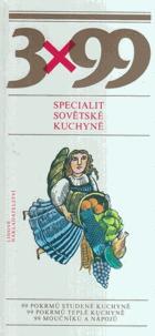 3 x 99 specialit sovětské kuchyně