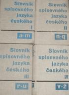 Slovník spisovného jazyka českého I - IV