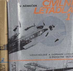 Civilní letadla sv. 1 - 2 KOMPLET!