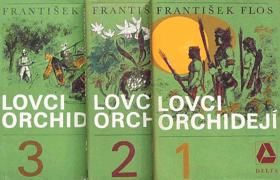 Lovci orchidejí sv. 1 - 3