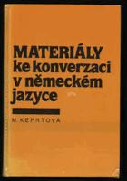 Materiály ke konverzaci v německém jazyce - tematický slovník