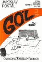 Gól - Fotbal v odrazu rovného a křivého zrcadla - Kreslený humor