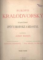 Rukopis Kralodvorský