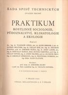 Praktikum rostlinné sociologie, půdoznalství, klimatologie a ekologie, svazek 2, BEZ PŘEBALU!