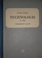 Technologie 2. díl - Obrábění kovů - učební text pro strojnické školy